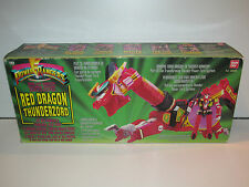 MMPR POWER RANGERS -  RED DRAGON THUNDERZORD MIB - BANDAI 1995