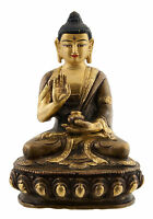 Amoghasiddhi Budda Soprammobile Tibetano 12.55 CM Rame Nepal AFR12-4287