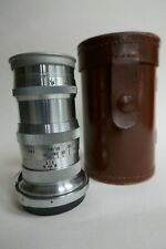 Vintage Carl Zeiss (CONTAX) 135mm/f4 Sonnar lens (No.2015011) with caps.