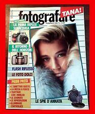 FOTOGRAFARE 2 1992 NIKON LA HORIZON FLASH RIFLESSO FOTO DOLCI PRIMI PASSI: L'OBI