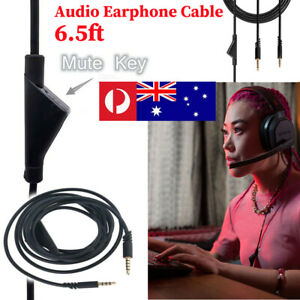 Audio Earphone Cable with Volume Control for Astro A10 A40 G233 Gaming Headset