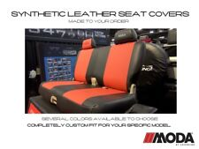 Coverking Moda Synthetic Leather Front Seat Covers for Dodge Ram