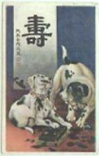 Parsons Jack Russell Fox Terrier Japanese Japan Dog Postcard