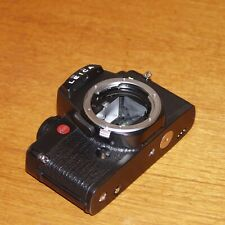 LEICA R4 CAMERA BODY black 35mm SLR Ernst Leitz GERMANY 1985