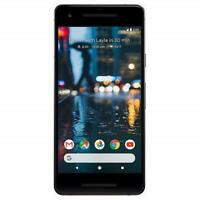 UNLOCKED Google Pixel 2 64GB Just Black G011A Clean IMEI Used