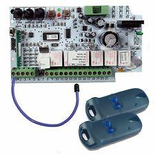 DUCATI CTH42 SET scheda e radiocomandi per cancelli a 1 o 2 ante battente