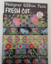 Jacquard Ribbon ~ Designer Ribbon Pack Fresh Cut Sue Spargo Renaissance Ribbons