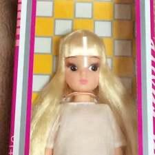Takara TOMY Licca Doll Rika chan Castle blond blonde long Reprint First Doll F/S