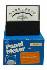 Vintage Ge General Electric Percent Full Load 200 0 200 Panel Meter
