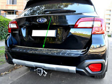Stainles Rear Trunk Tailgate Edge Trim Garnish Protector for Subaru Outback 5GEN