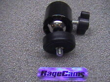 "RageCams Industrial Grade Omni Pan Tilt Swivel Ball Mount 1/4""-20 Locking Nut"
