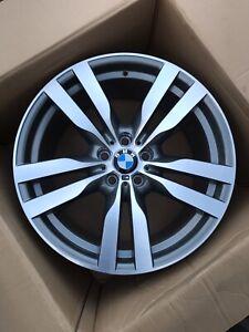 Original BMW X5 E70 X6 E71 20 Pouces Doppelspeiche M300 Rond 10x20 6790605 Neuf