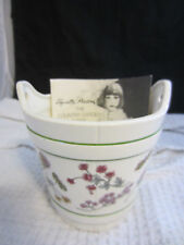 vintage 1970s Elizabeth Arden Country Garden ceramic planter gift w/purchase