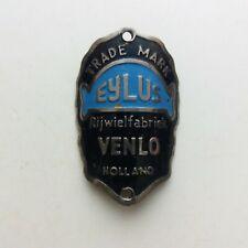 VENLO EYLUS Head Badge Emblem Vintage Bicycle NOS