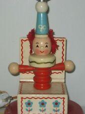 Vintage Clown Lamp Jack In The Box Lamp Nursery Lamp