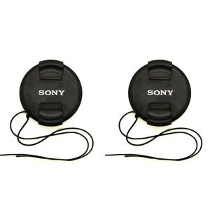 2Pack Sony-II 82mm Front Lens Cap for Sony A7R4 A7M2 w/ FE 24-70mm f/2.8 GM Lens