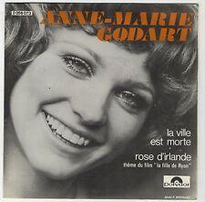 """45 tours Anne-Marie Godart """"La ville est morte - Rose d'Irlande"""" 1971 Comme NEUF"""