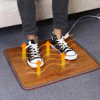 Winter Heating Foot Mat Heating Pad Warm Feet Thermostat Carpet  Warming Tool TM