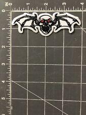 Skull Bat Wings Patch Motorcycle Club Gang Biker Jacket Halloween Rider Skeleton