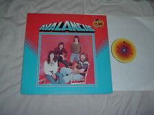 AVALANCHE + ALEXIS 2LP lot RARE Aussie metal ORIGINAL 1st press w/ GATEFOLD 2LP