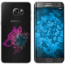 Samsung Galaxy S7 Edge Custodia in Silicone floral M3-6 Case Case