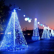 200 Leds LED Weihnachten Lichterkette Lichternetz Weihnachtsbeleuchtung Garten