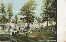 Seneca NY * Cayuga Lake Park 1911* Tintype Photographers Tent *  Seneca Falls