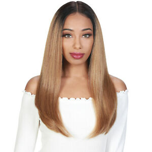 ZURY SIS SYNTHETIC FLAWLESS PRE-TWEEZED HAIR LINE SWISS LACE FRONT WIG - HOPE
