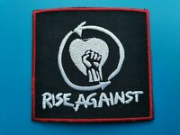 Rise Against Patch Punk Rock Music Festival Sew or Iron On Badge