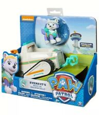 Paw Patrol Everest's Rescue Snowmobile, Vehicle and Figure Kids Children Toy New