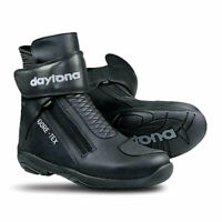 Daytona Arrow Sport Moto Motorcycle Bike Gore-Tex Boots Black