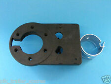 Swan Neck Towing Socket Mounting Plate 7 Pin or 13 Pin Trailer Socket