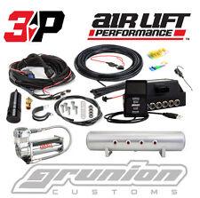 "Air Lift 3P Digital Air Bag Suspension Pressure Control System w/ Tank 444C 3/8"""