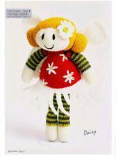Daisy fairy toy doll knitting pattern