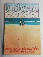 N41 Rivista Universo Okapi N°111 Promenade Scoperta Au Bordo Della Mare