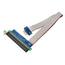 Q33 PCI-E 1x auf 16x Verlängerungskabel Riser Extender Extension Adapter Karte