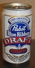 Aluminum Pabst Draft Pull Tab Beer Can Pearl San Antonio Texas Bottom Opened