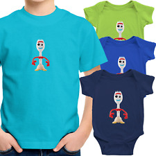 Toddler Kids Tee T-Shirt Infant Baby Bodysuit Romper Gift Cute Forky Toy Story