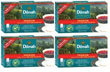 Dilmah Premium Quality Tea 50 Tea Bags  x 4 boxes Ceylon Tea