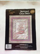Golden Bee 20379 Southwestern Pot Vintage Stamped Cross Stitch Kit You Finish