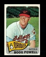 1965 Topps Boog Powell #560 BALTIMORE ORIOLES NM HIGH # Vintage  Baseball Card