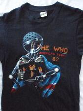 THE WHO 1982 TOUR Authentic Vintage T-SHIRT