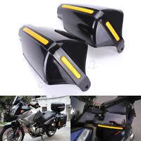 "Pair 22mm 7/8"" Universal Motorcycle Motorbike Handlebar Hand Guards"