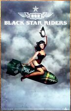 Black Star Riders Killer Instinct Ltd Ed Discontinued Rare Poster! Thin Lizzy