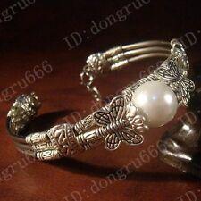 Hot! Beautiful fashion jewelry Tibet Tibetan silver ladies bracelet bangle L1022