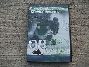 2008 Arctic Cat Snowmobile 2259-018 Service Updates on DVD