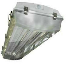 6-lamp Vapor Tight T5 High Bay Fluorescent Light Fixtures Car Wash Lighting
