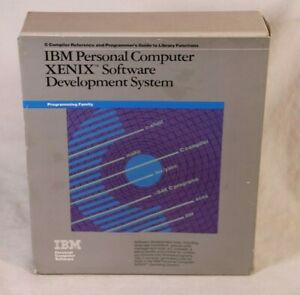 IBM Personal Computer XENIX Software Development System - Open Box - No Disks