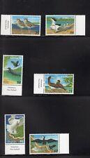 Vanuatu 1997 Coastal Birds Heron Sandpiper Tropic Bird Booby Tern MNH SG 697-703