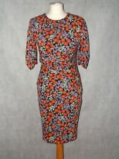 pretty floral silk WHISTLES BELLA dress size  10